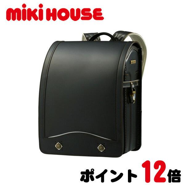 ≪ポイント12倍≫【ミキハウス】コードバンランドセル(男の子)【送料無料】【数量限定】