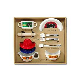 【ダブルB】テーブルウェアセット(ベビー食器セット)出産祝いギフト【箱付】【送料無料】