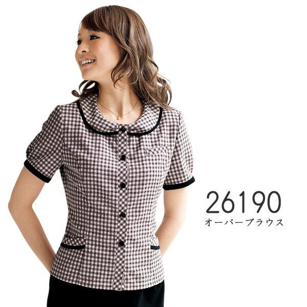 【ジョア】事務服 オーバーブラウス(21-23号)大きいサイズ 26190 JOIE