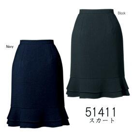 【ジョア】事務服 ティアードスカート(5-19号)51411 JOIE