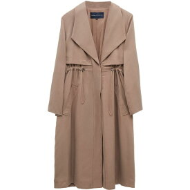フレンチコネクション French Connection レディース コート アウター【Carla Lyocell Oversized Coat】Mocha Mousse