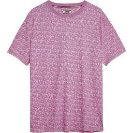 トミー ヒルフィガー Tommy Hilfiger レディース Tシャツ トップス【Signature Boyfriend T-Shirt】Lilac
