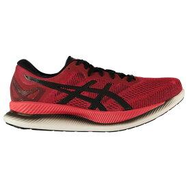 アシックス Asics メンズ ランニング・ウォーキング シューズ・靴【GlideRide Running Shoes】Red/Black