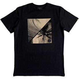 クイックシルバー Quicksilver メンズ Tシャツ トップス【Colourful Night T Shirt】Black
