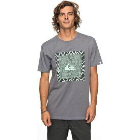 クイックシルバー Quicksilver メンズ Tシャツ トップス【classic nano spano tshirt】Grey