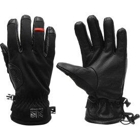 カリマー Karrimor メンズ 手袋・グローブ 【alpiniste walking gloves】Black