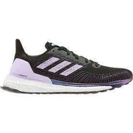 アディダス adidas レディース ランニング・ウォーキング シューズ・靴【solar boost st 19 running shoes】Black/Purple