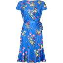 ユミ Yumi Curves レディース パーティードレス 大きいサイズ ワンピース・ドレス【bouquet print plus size slinky j…