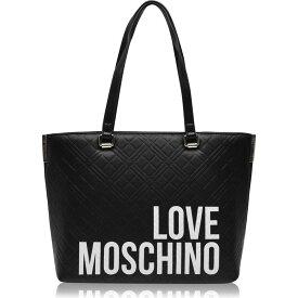 モスキーノ Love Moschino レディース トートバッグ バッグ【Quilted Tote Bag】NEROA