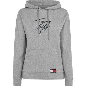トミー ヒルフィガー Tommy Bodywear レディース パーカー トップス【85 Hoodie】Grey HeatherPS