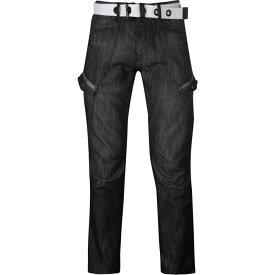 エアウォーク Airwalk メンズ ジーンズ・デニム ボトムス・パンツ【Belted Cargo Jeans】Black II