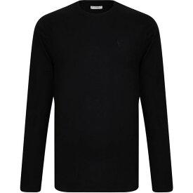 ヴェルサーチ VERSACE COLLECTION メンズ 長袖Tシャツ メデューサ トップス【Medusa Long Sleeved T Shirt】Black V