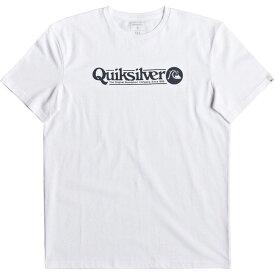 クイックシルバー Quicksilver メンズ Tシャツ トップス【Art Tickle T-Shirt】White