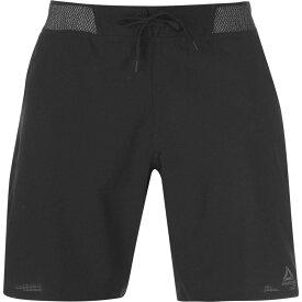 リーボック Reebok メンズ フィットネス・トレーニング ショートパンツ ボトムス・パンツ【Epic Knit Shorts】Black