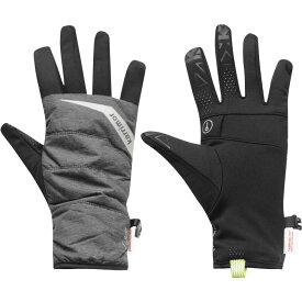 カリマー Karrimor メンズ ランニング・ウォーキング グローブ【Quilted Running Gloves】Black