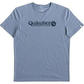 クイックシルバー Quicksilver メンズ Tシャツ トップス【Art Tickle T-Shirt】Denim Stonewash