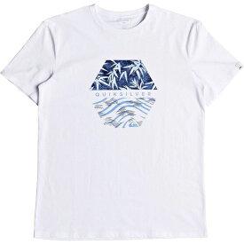 クイックシルバー Quicksilver メンズ Tシャツ トップス【Bamboo Breakfast T-Shirt】White