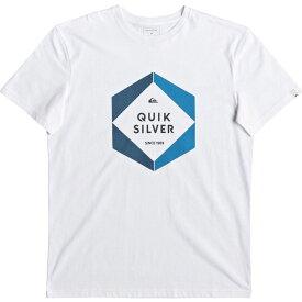 クイックシルバー Quicksilver メンズ Tシャツ トップス【Hexa Logo T-Shirt】White