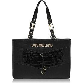 モスキーノ Love Moschino レディース トートバッグ バッグ【Mix Tote Bag】NEROA