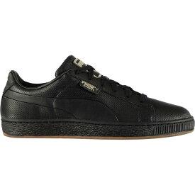 プーマ Puma メンズ スニーカー シューズ・靴【Basket Classic Gum Trainers】Black/Gum