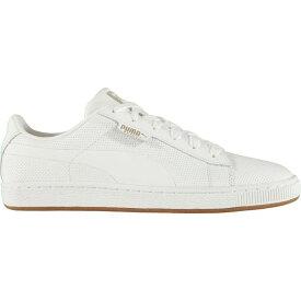 プーマ Puma メンズ スニーカー シューズ・靴【Basket Classic Gum Trainers】White/Gum