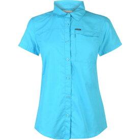 コロンビア Columbia レディース トップス 【Ridge Short Sleeve Shirt】Atoll
