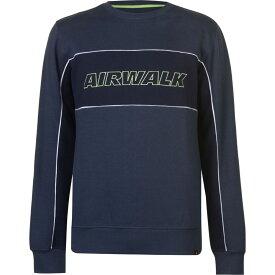 エアウォーク Airwalk メンズ トップス 【Logo Sweater】Navy