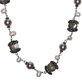 マックスマーラ Max Mara Weekend レディース ネックレス ジュエリー・アクセサリー【Bevanda Pearl Necklace】Pearl Grey