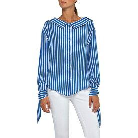 リプレイ Replay レディース ブラウス・シャツ トップス【Shirt With Striped Print】Multi Coloured