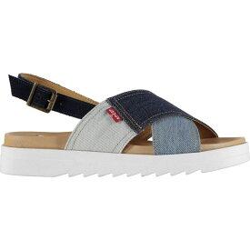 リーバイス Levis レディース サンダル・ミュール シューズ・靴【Persia Sandals】Navy Blue