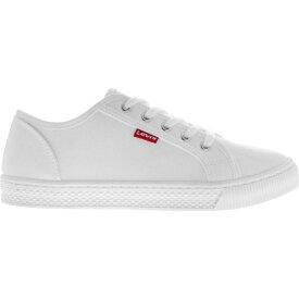リーバイス Levis レディース スニーカー シューズ・靴【Malibu Trainers】Total White
