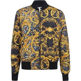 ヴェルサーチ Versace Jeans Couture メンズ ブルゾン ミリタリージャケット アウター【Reversible Bomber Jacket】Black