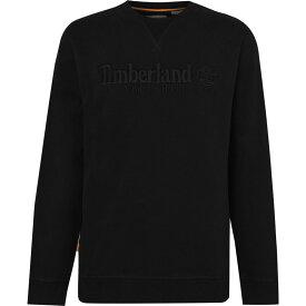 ティンバーランド Timberland メンズ スウェット・トレーナー トップス【Outdoor Heritage Crew Sweatshirt】Black