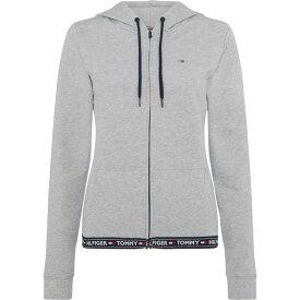 トミー ヒルフィガー Tommy Bodywear レディース パーカー トップス【Taping hoody】Grey