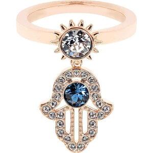 スワロフスキー Swarovski レディース 指輪・リング チャーム ジュエリー・アクセサリー【Symbol Ring Charm】Rs Gold/Blue