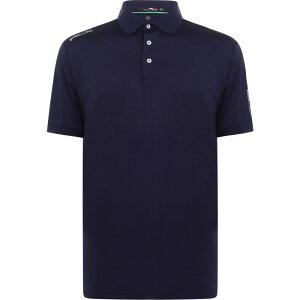 ラルフ ローレン Polo Ralph Lauren メンズ ゴルフ 半袖 トップス【Rlx Short Sleeve Polo Shirt】French Navy