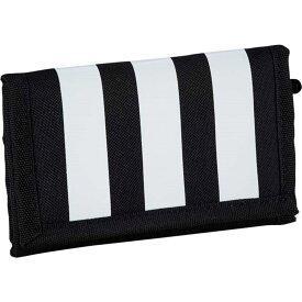 アディダス adidas ユニセックス 財布 【Essentials 3-Stripes Wallet】Black/White