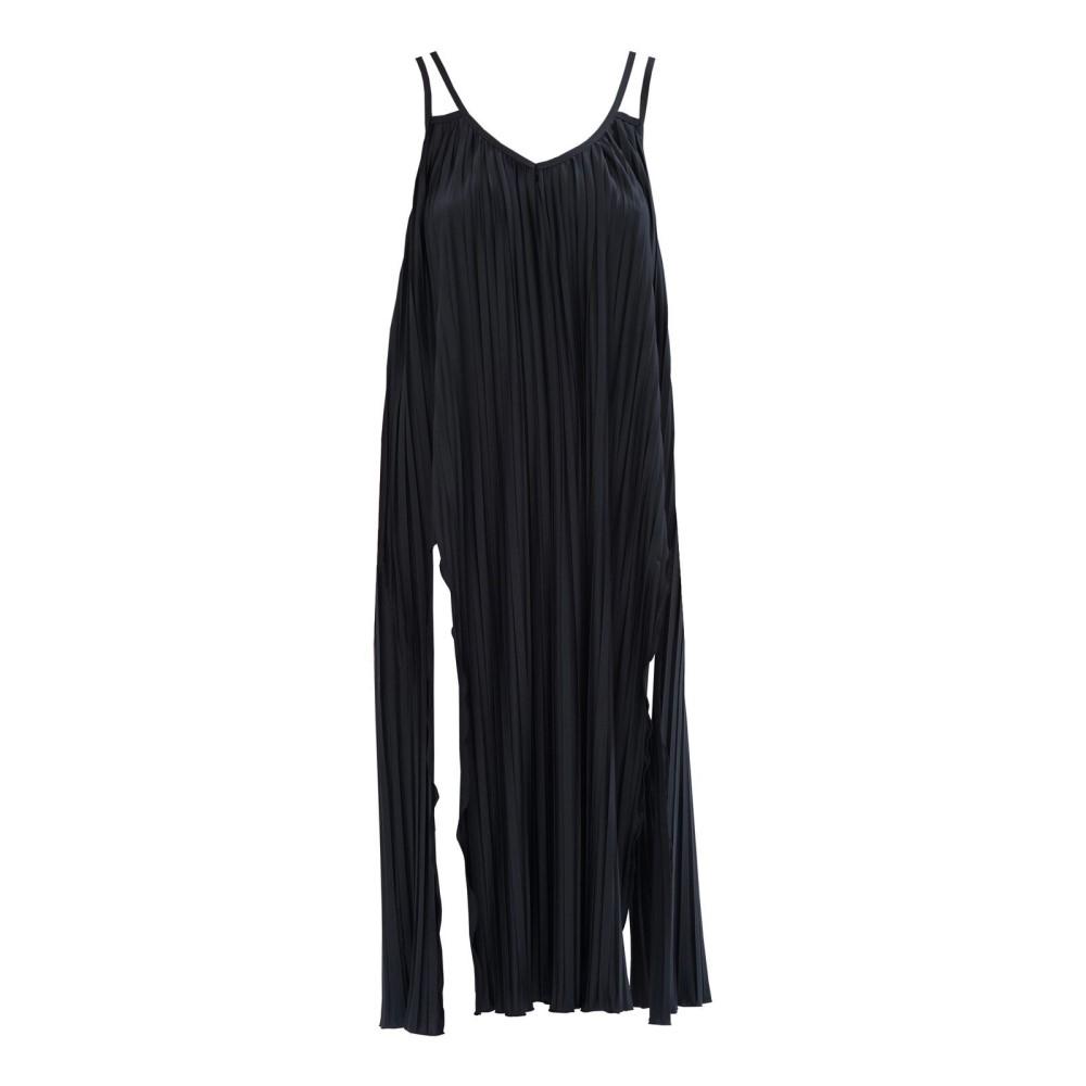 サンシーカー レディース 水着・ビーチウェア ビーチウェア【Pleated Maxi Dress】black