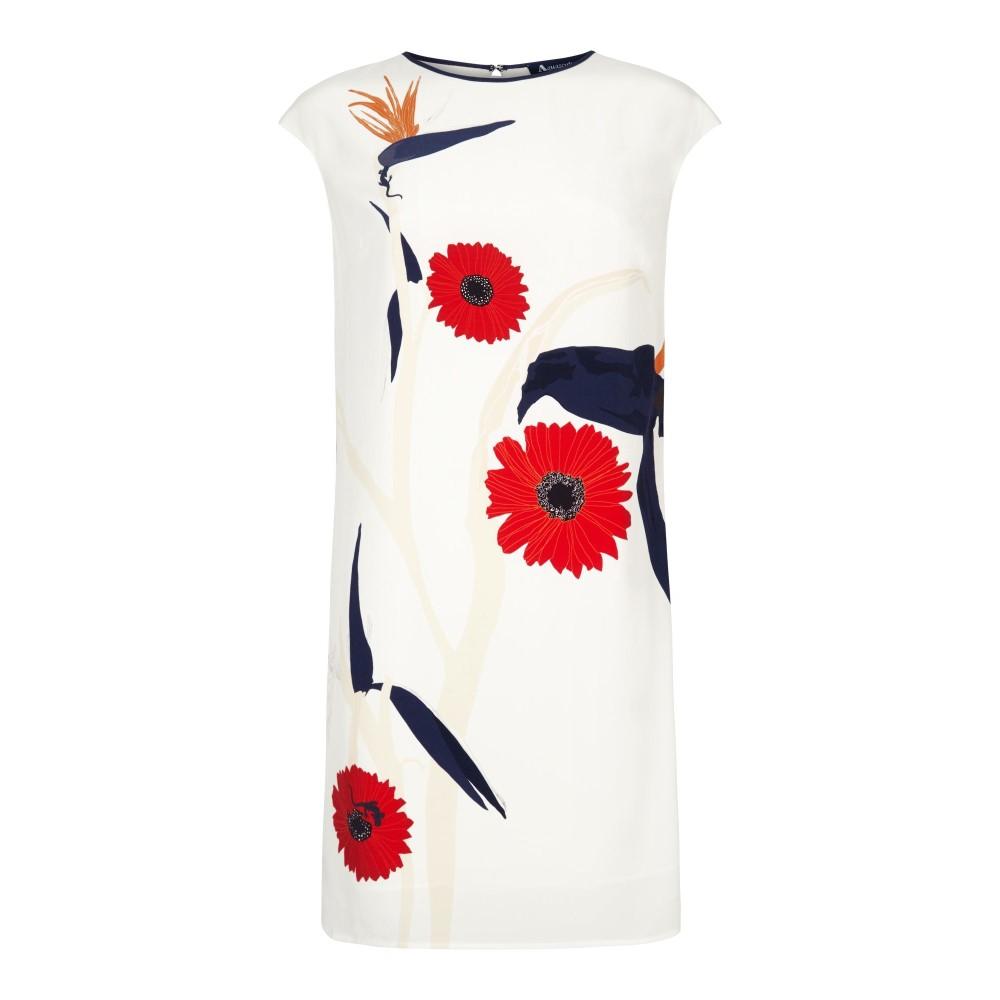 アクアスキュータム レディース ワンピース・ドレス ワンピース【Tuka Print Dress】white