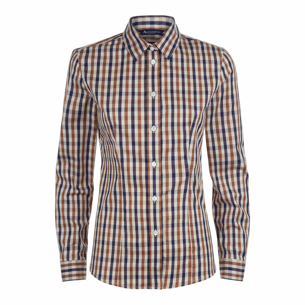 アクアスキュータム レディース トップス【Bowten 2 Club Check Shirt】multi-coloured