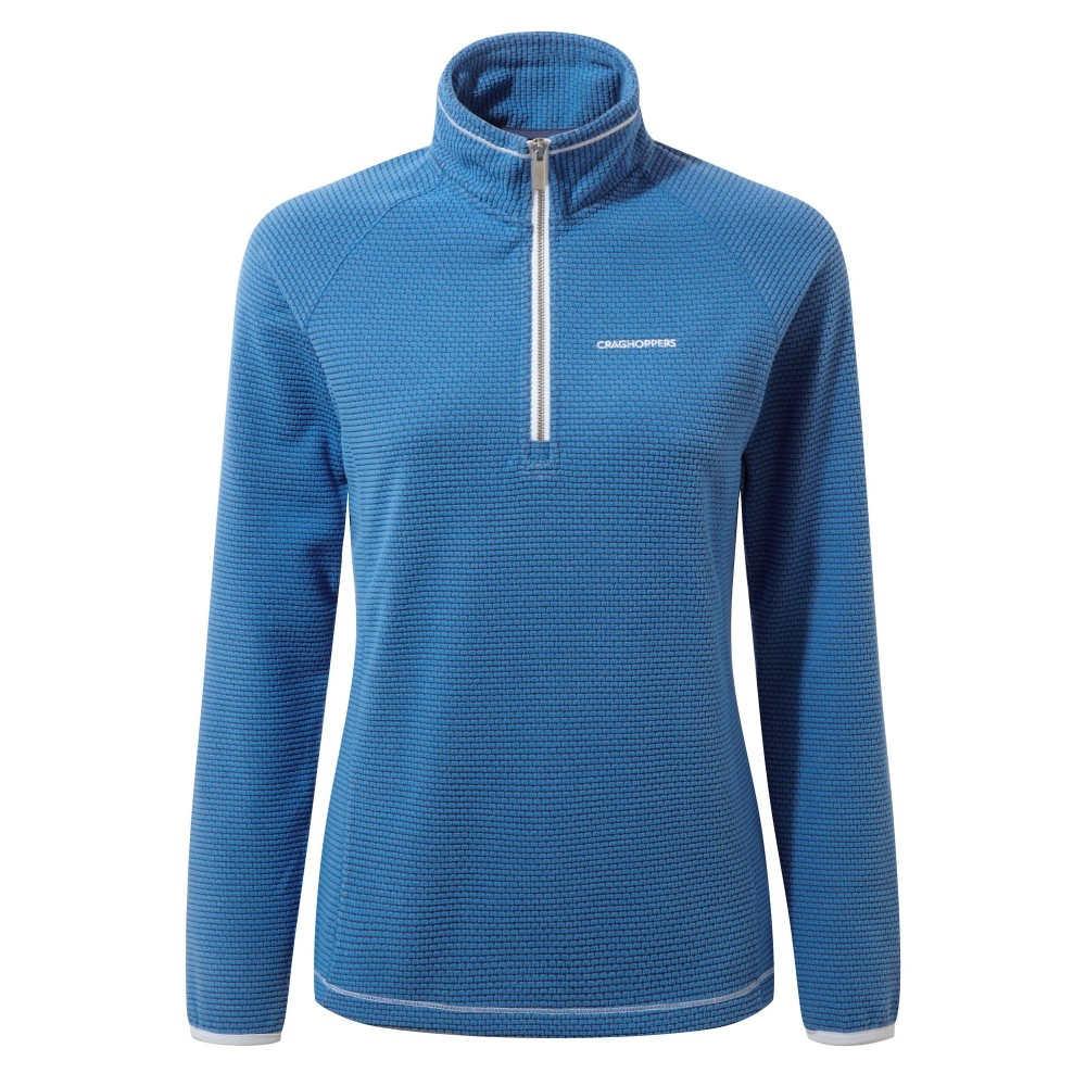 クラッグホッパーズ レディース アウター【Hazelton Half Zip Fleece】blue