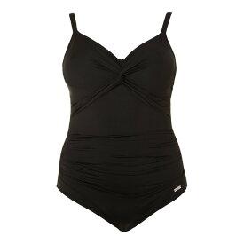 9f8914530109 ファンタジー レディース 水着・ビーチウェア ワンピース【Versailles Twist Front Swimsuit】black