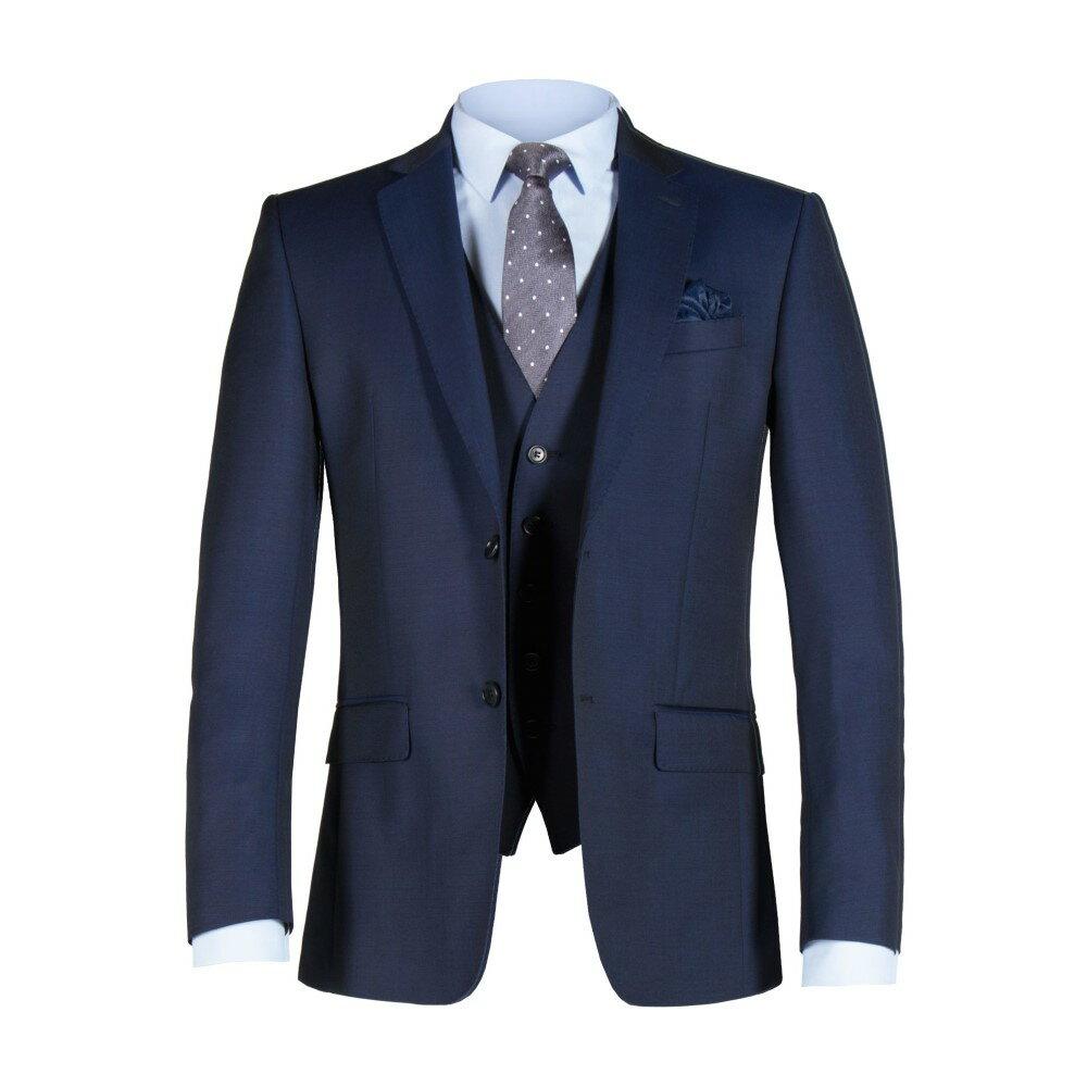 アレクサンダー オブ イングランド メンズ アウター スーツ・ジャケット【Weston Blue Twill Jacket】blue