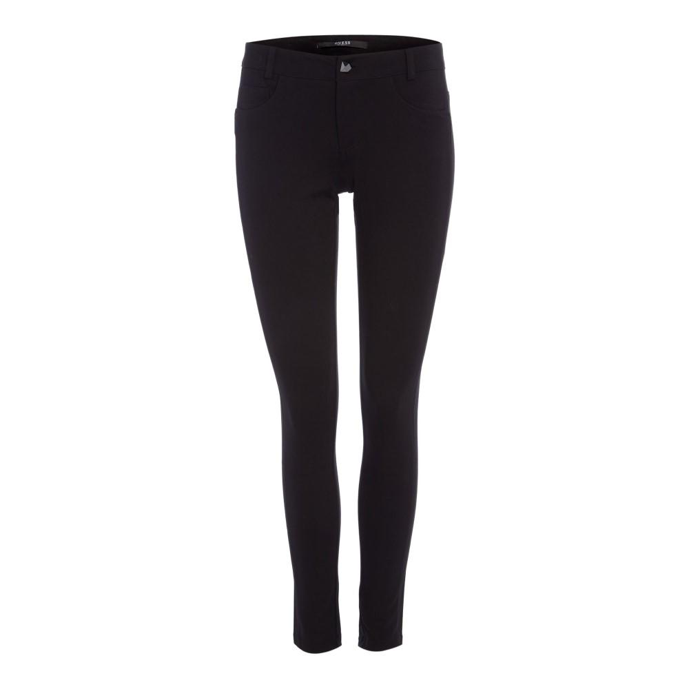 ゲス レディース ボトムス・パンツ ジーンズ・デニム【Curve X Mid Rise Skinny Jeans In Jet Black】black