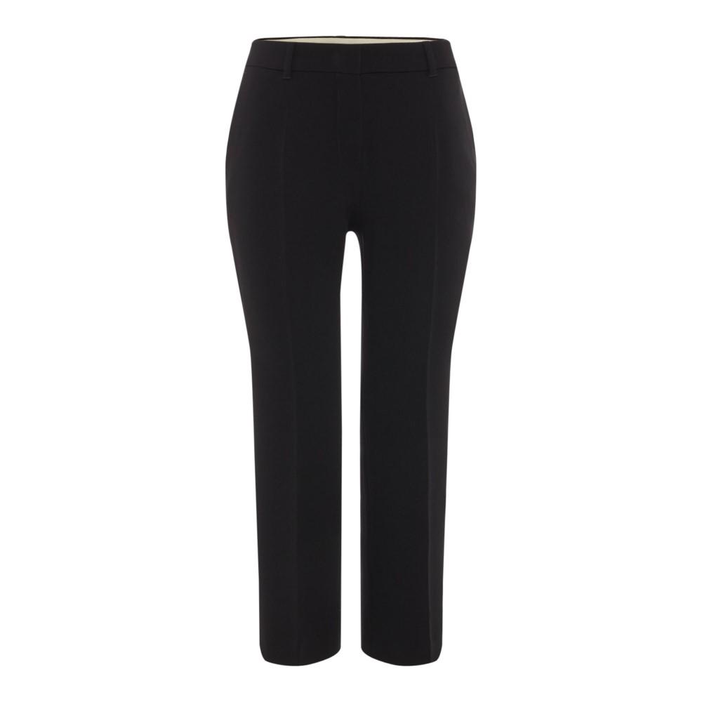 マックスマーラ レディース ボトムス・パンツ クロップド【Mascia Striaght Leg Crop Pants】black