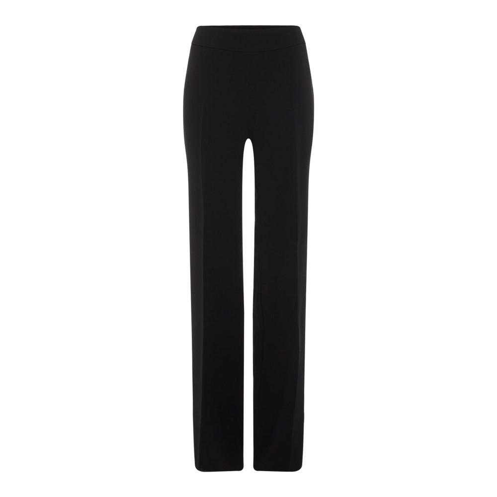マックスマーラ レディース ボトムス・パンツ【Starapo Trouser With Side Fastening】black