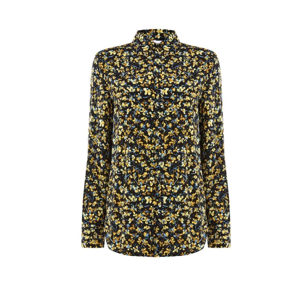 ウェアハウス レディース トップス ブラウス・シャツ【Mini Marigold Shirt】black