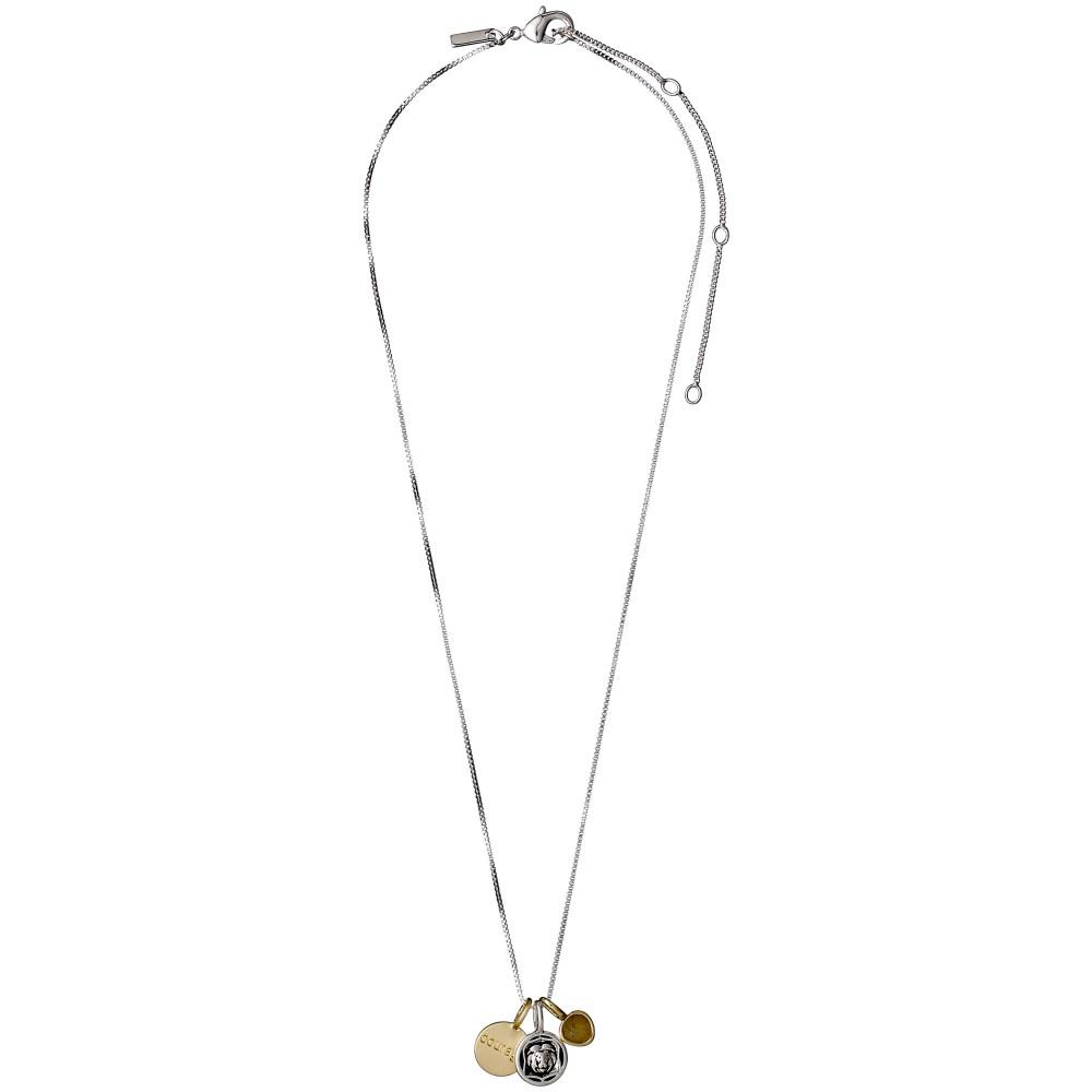 ピルグリム レディース ジュエリー・アクセサリー ネックレス【Fortune Necklace Mix Metal Courage】gold