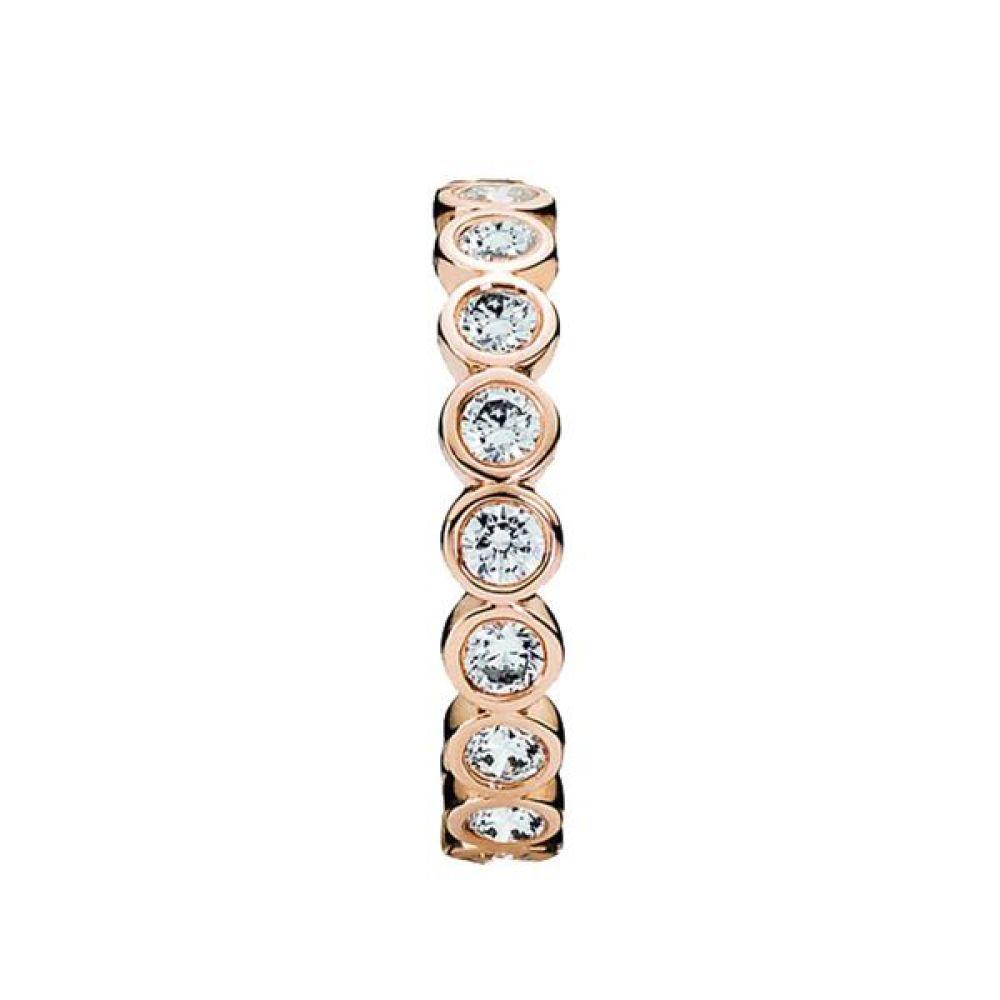 パンドラ レディース ジュエリー・アクセサリー 指輪・リング【Rose Sparkling Ring】rose gold