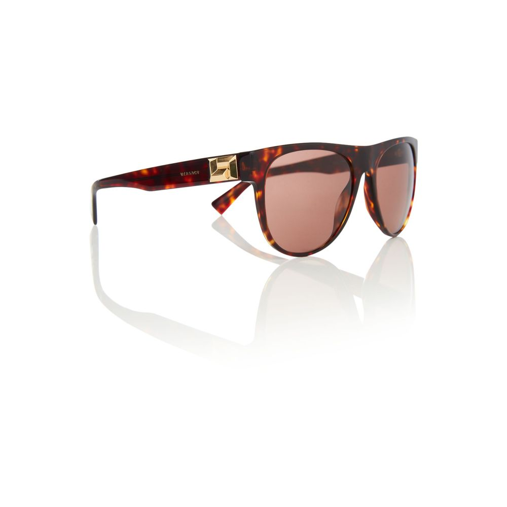 ヴェルサーチ メンズ メガネ・サングラス【Brown Ve4346 Pilot Sunglasses】frame colour: brown